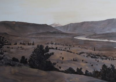 COLUMBIA RIVER<br />oil on canvas80 x 902016