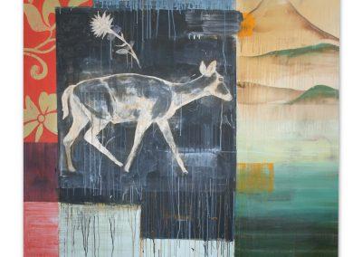 MT. FUGI<br />oil on canvas72 X 78