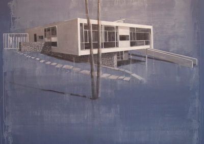 SEIDLER HOUSE<br />oil on canvas     60 x 60     2011