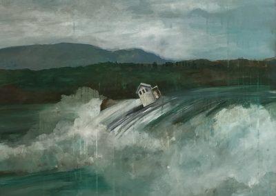 FLOOD<br />oil on canvas30 x 362017