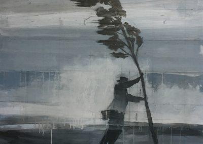 HURRICANE<br />oil on canvas38 x 362017