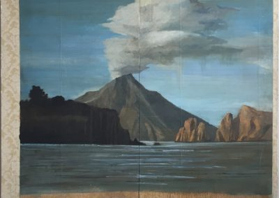 UNDER THE VOLCANO<br />oil on panel80 x 722016