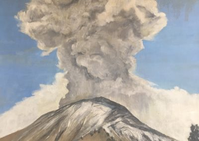 VOLCANO 2<br />oil on canvas96 x 702016